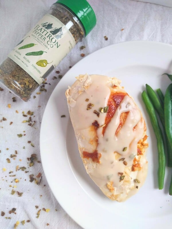 Sous Vide Chicken with Creamy Pepper Flake Sauce