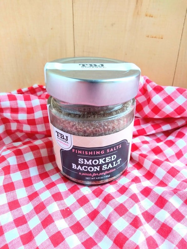 Smoked Bacon Finishing Salt