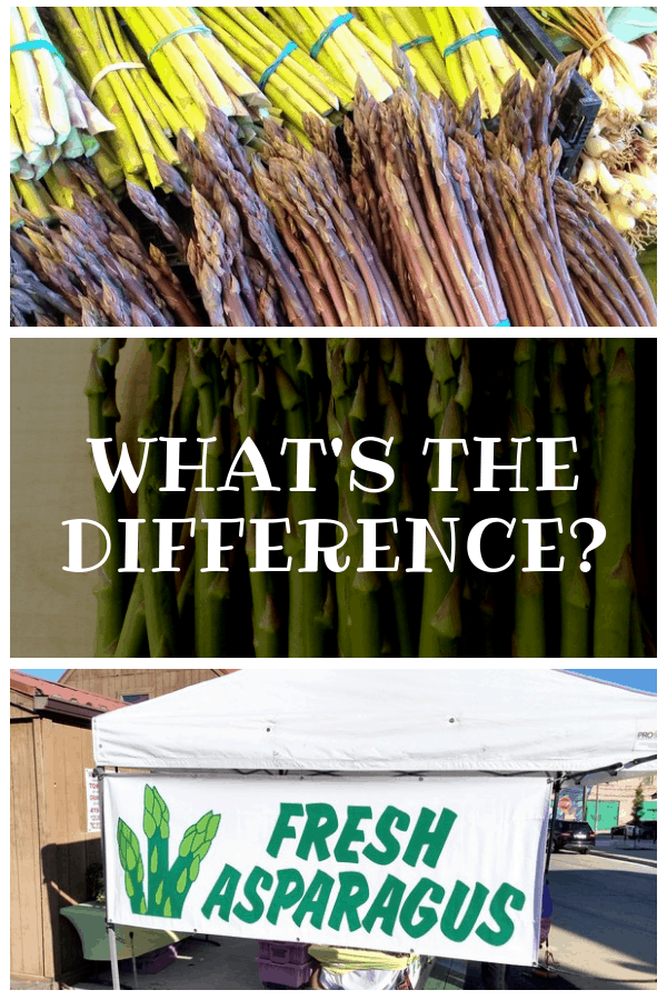 What's the Difference Between Green and Purple Asparagus