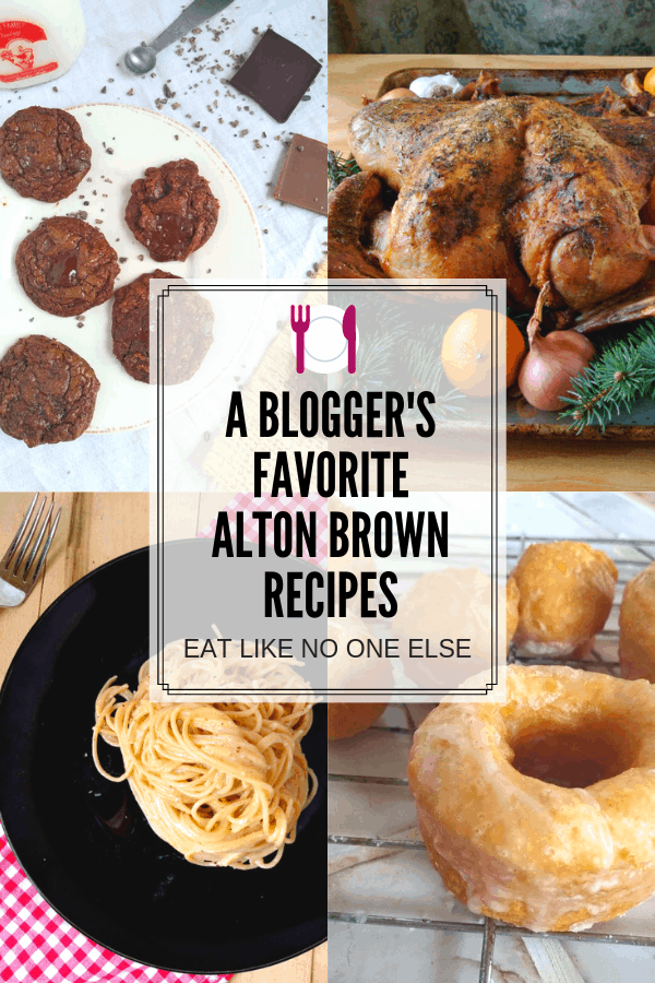 A bloggers' favorite Alton Brown recipes