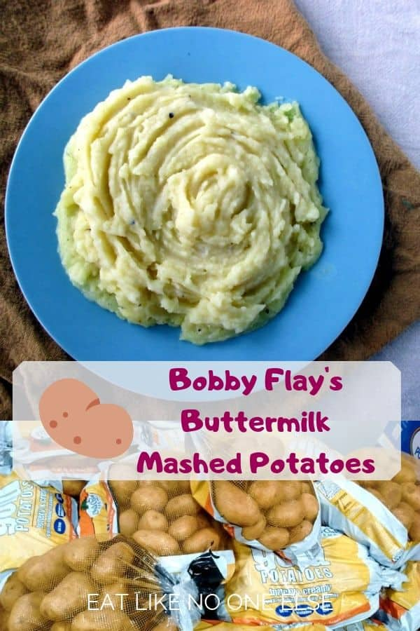 Bobby Flay Mashed Potatoes with Buttermilk