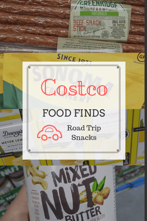 Costco Food Finds for Road Trip Snacks