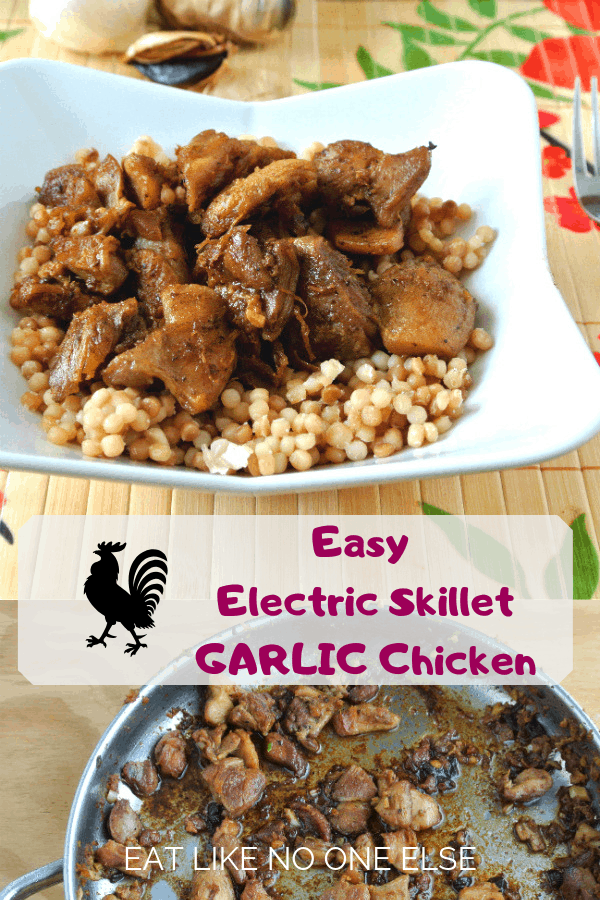 Easy Electric Skillet Garlic Chicken