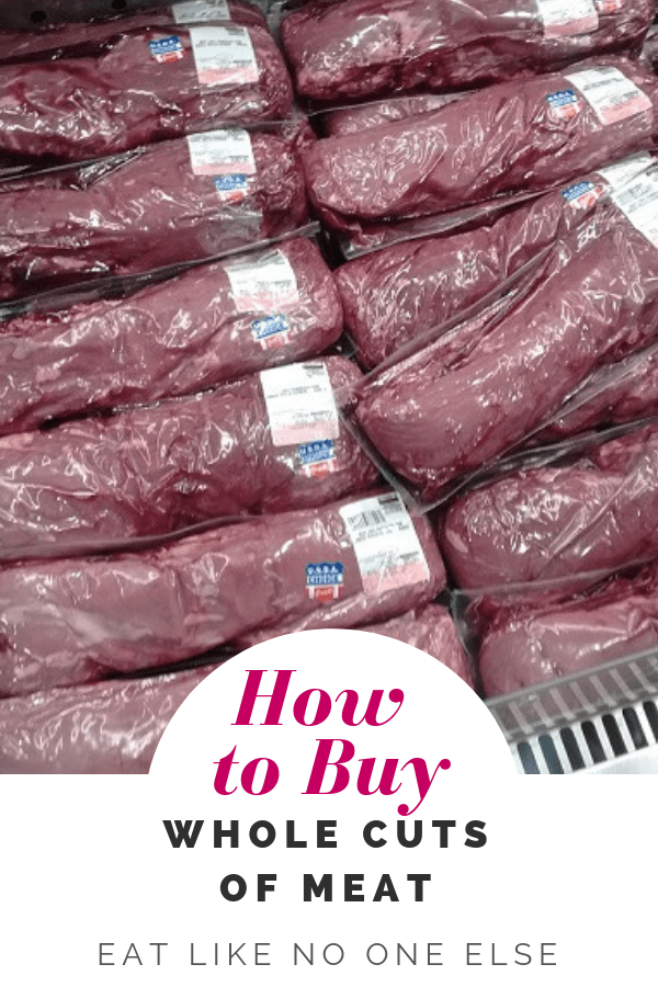 Buying Whole Cuts of Meat