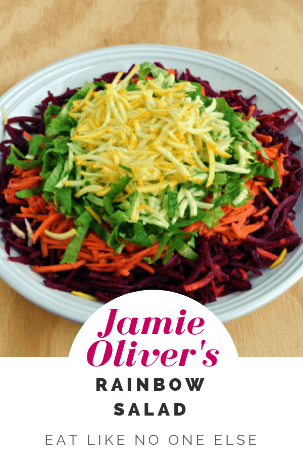 Jamie Oliver S Rainbow Salad Homemade Dressing Recipes Eat Like No One Else