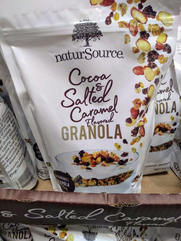 NaturSource Salted and Caramel Flavored Granola