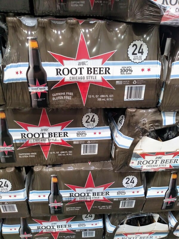 WBC Chicago Stylr Root Beer at Costco