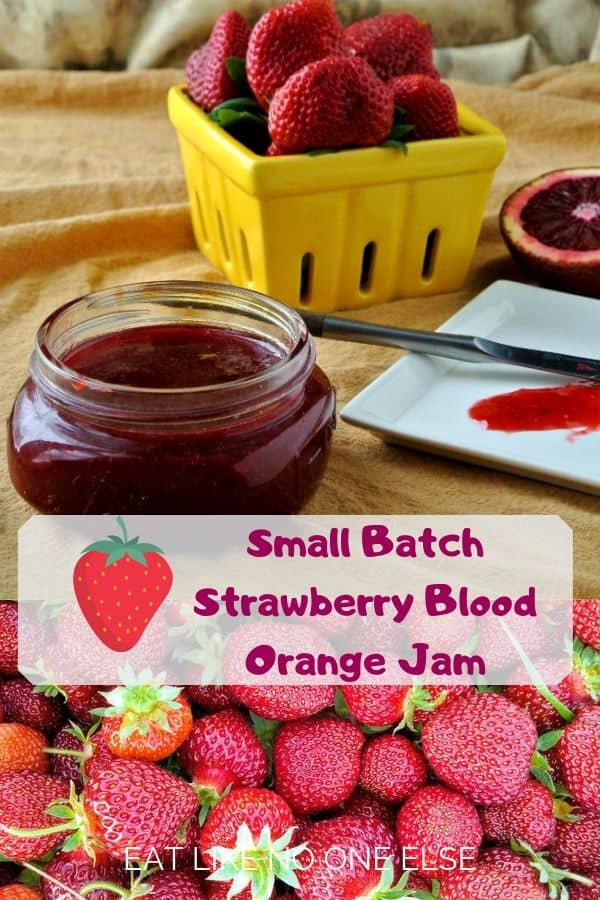 Small Batch Strawberry Blood Orange Jam