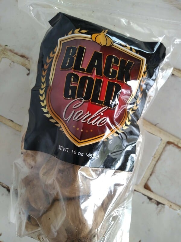 Texas Black Gold Garlic