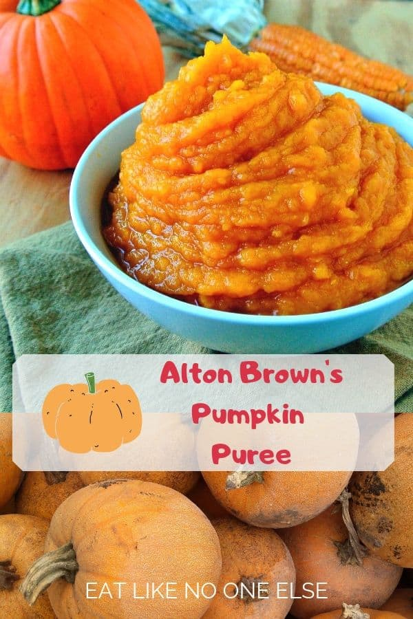 Alton Brown's Homemade Pumpkin Puree