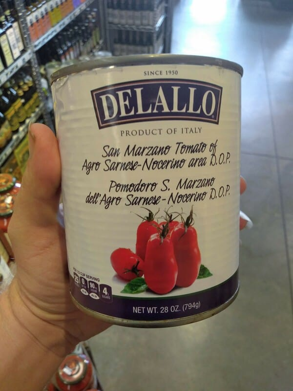 DeLallo DOP San Marzano Tomatoes