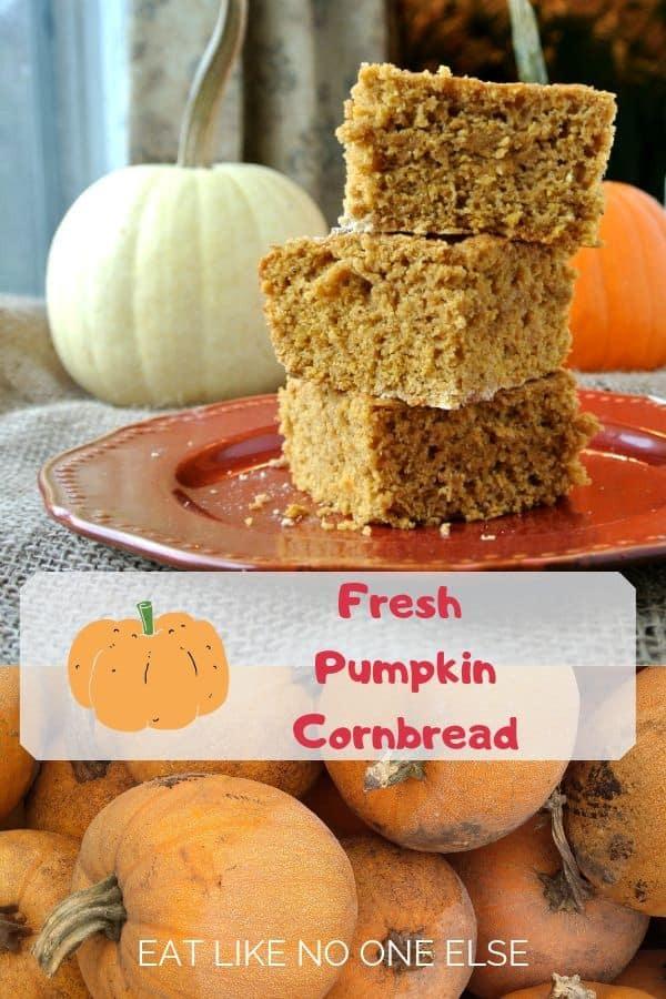 Fresh Pumpkin Cornrbead