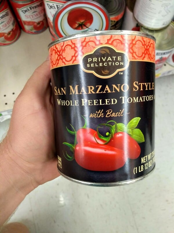 Private Selection Kroger San Marzano Style Tomatoes