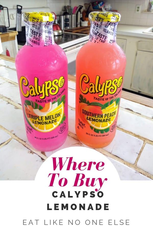 Where to Buy Calypso Lemonade Near Me