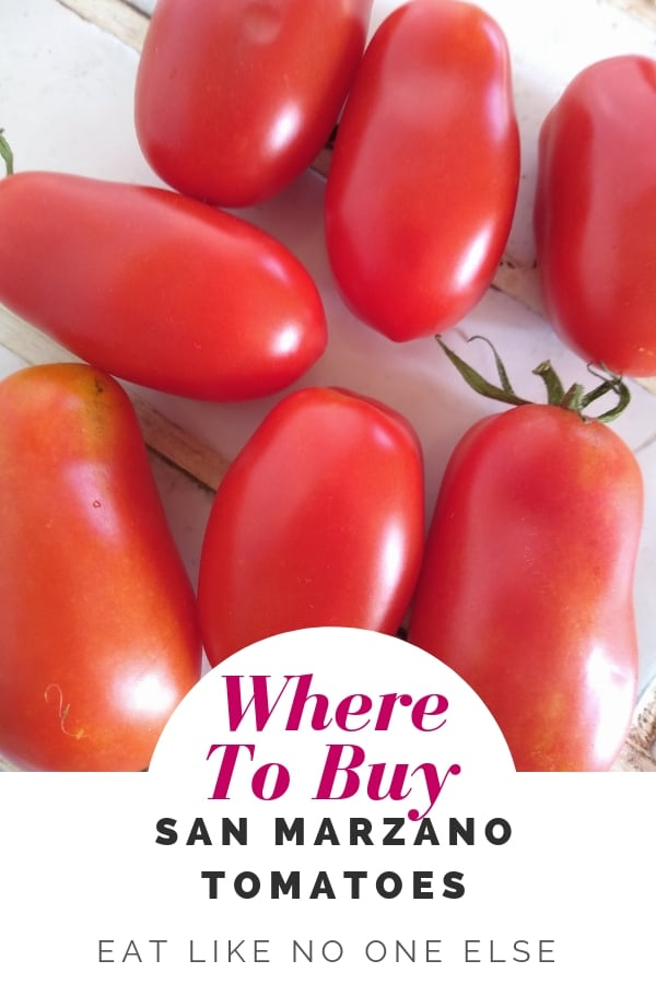 Where to Buy San Marzano Tomatoes