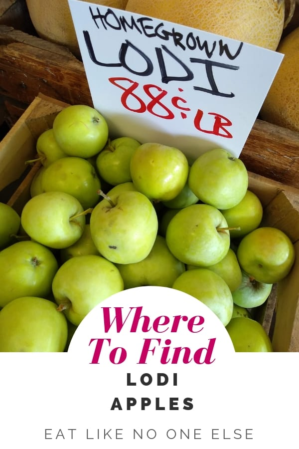 Where to Find Lodi Apples