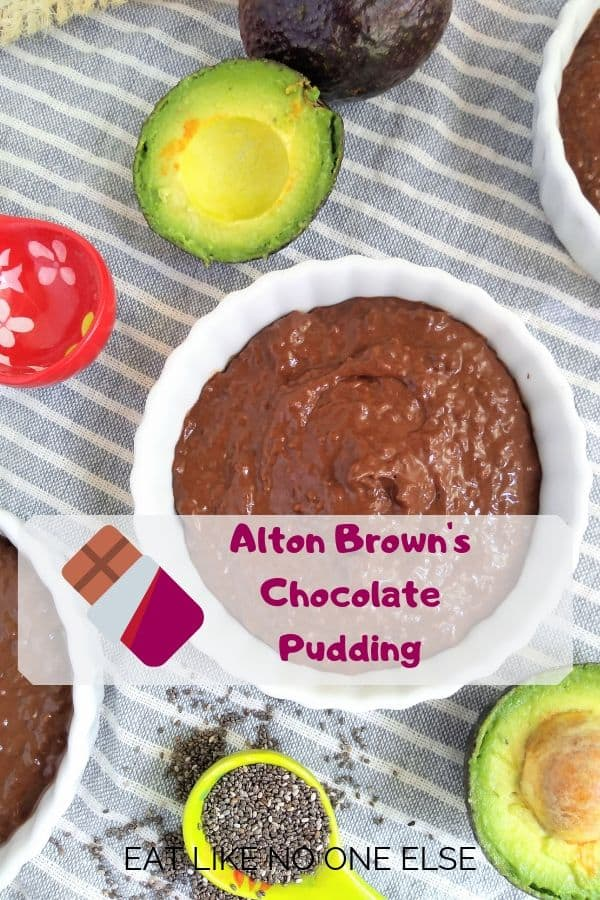 Alton Brown's Chocolate Pudding