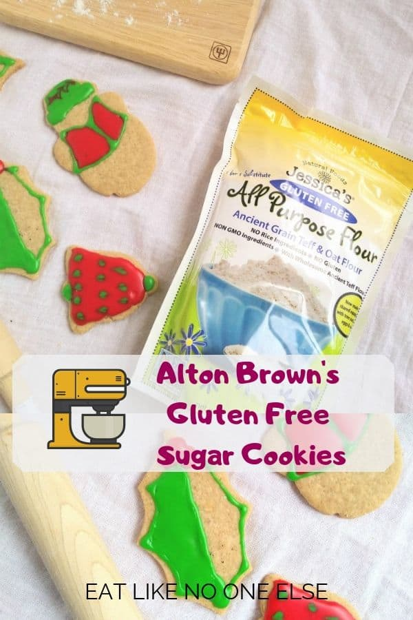 Alton Brown's Gluten Free Sugar Cookies