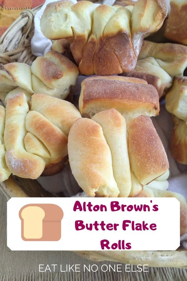 Alton Brown's Butter Flake Rolls