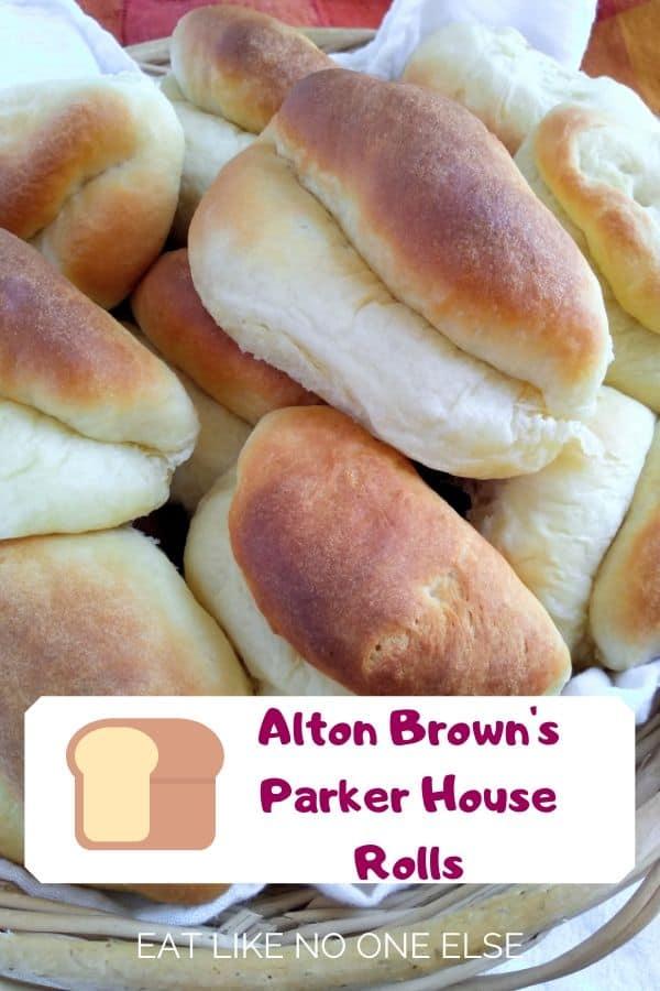 Alton Brown's Parker House Rolls