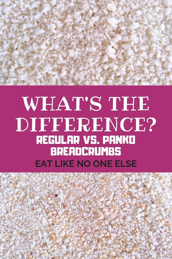 What's the Difference Between Regular vs Panko Bread Crumbs