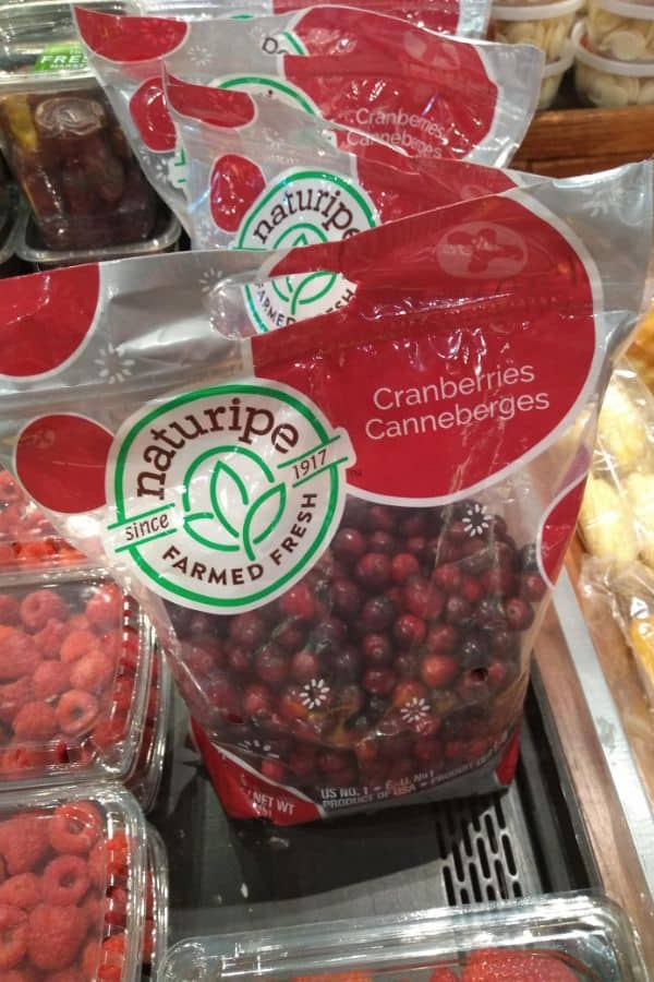 Naturipe 2 pound bags of cranberries