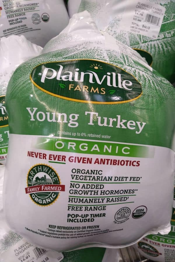 Plainville Farms Organic Turkey at Costco