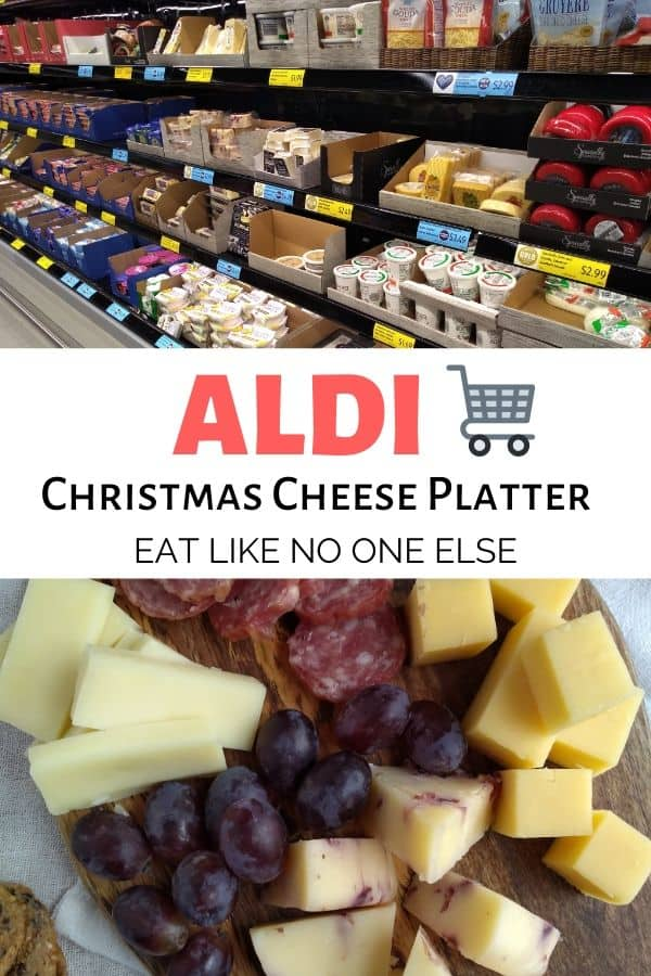 How to Make an ALDI Christmas Cheese Platter