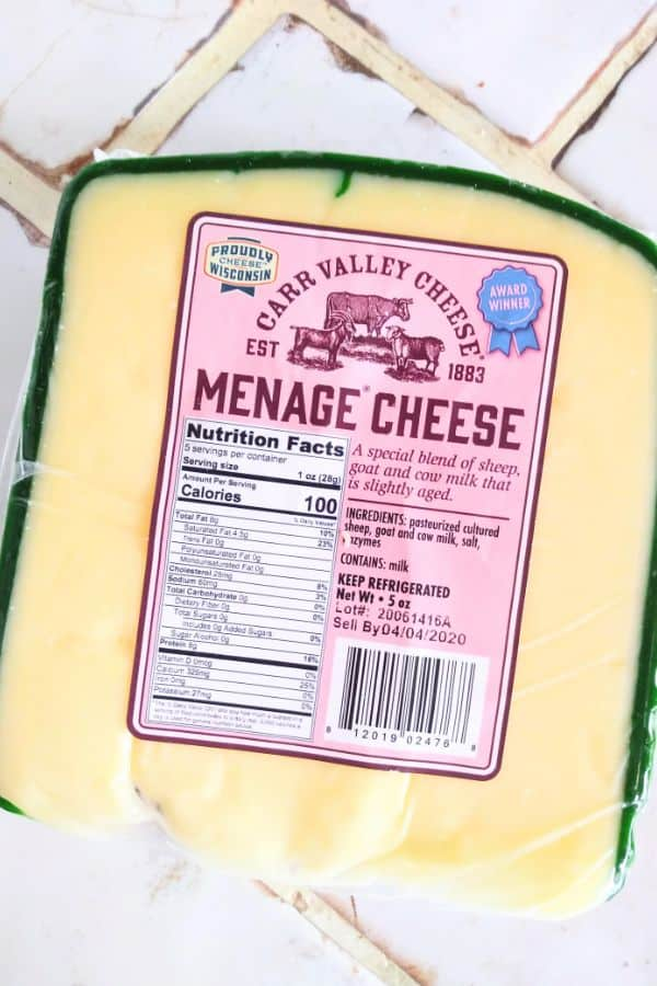 Carr Valley Menage Cheese