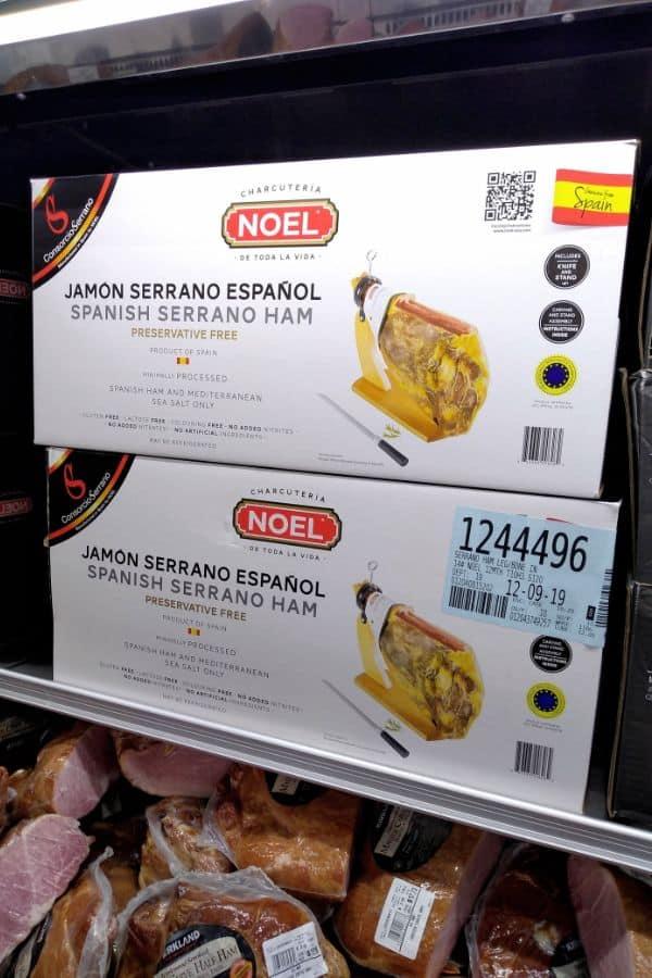 Noel Spanish Serrano Ham in Box