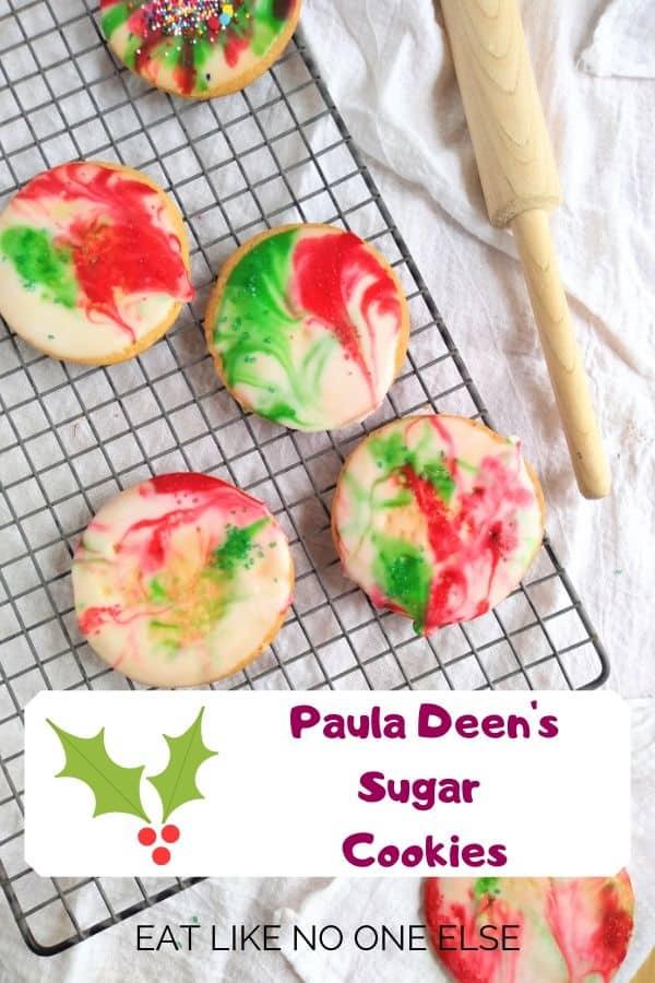 Paula Deen's Sugar Cookies