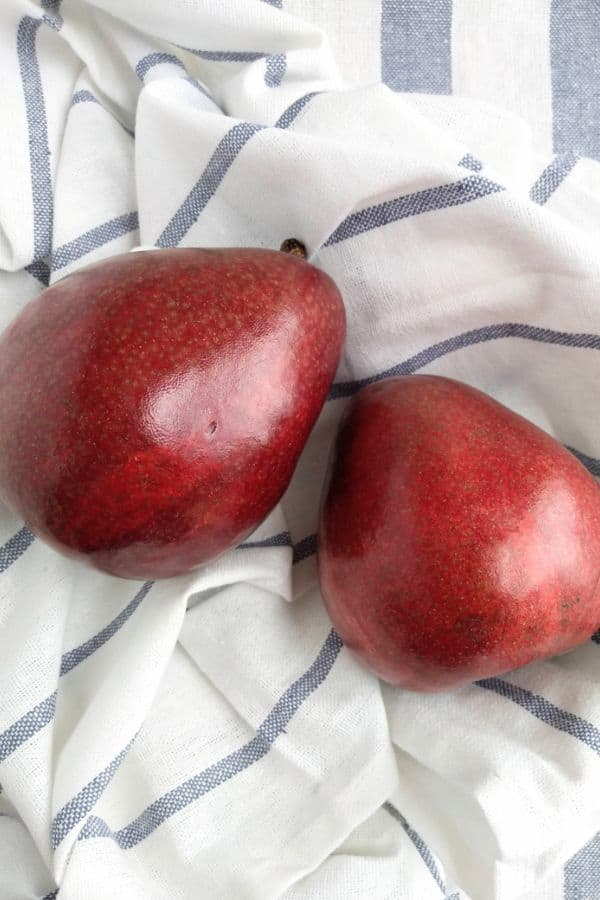 Red D'Anjou Pears