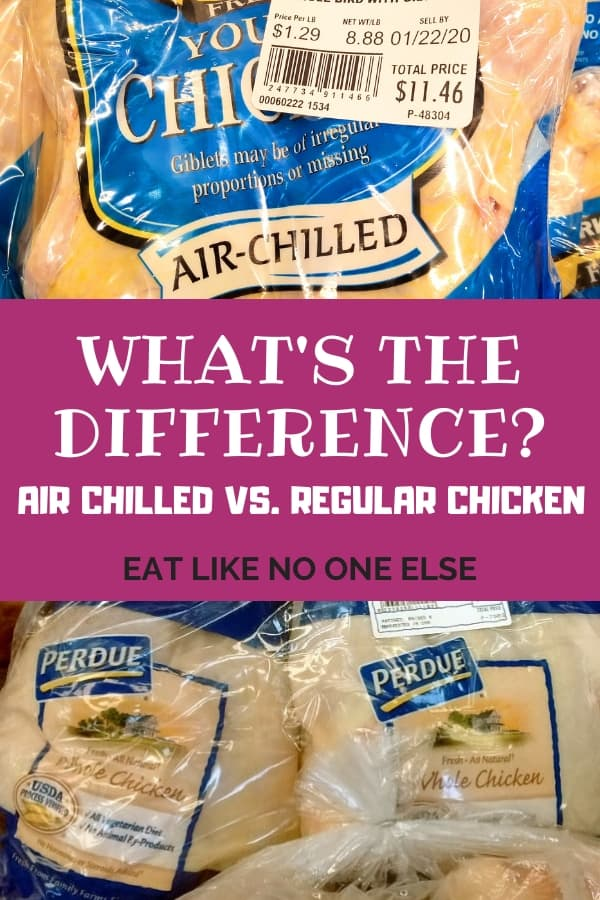 What is the Difference Between Air Chilled and Regular chicken