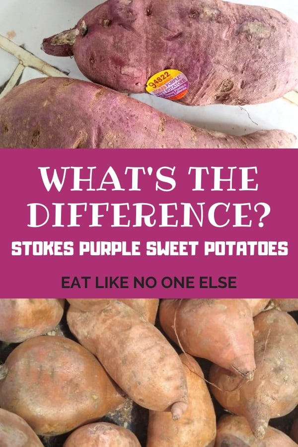 What's Difference Stokes Purple Sweet Potatoes