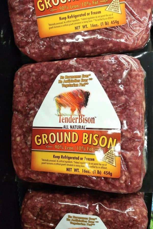Tender Bison Ground Bison