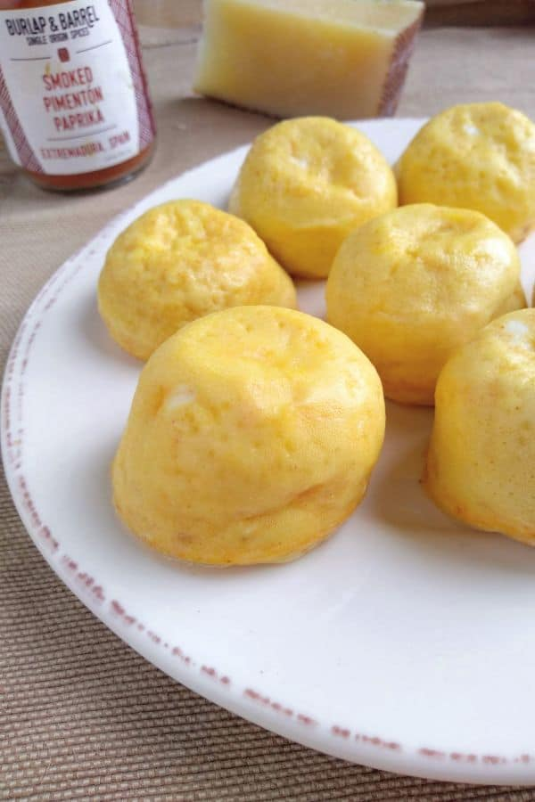 Manchego Instant Pot Egg Bites with Smoked Pimenton Paprika