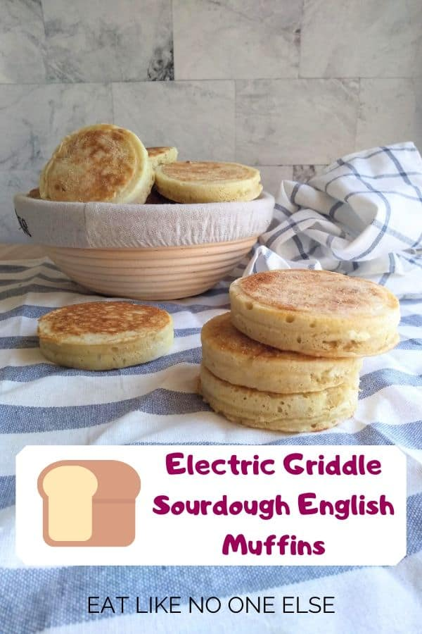 Electric Griddle Sourdough English Muffins recipe