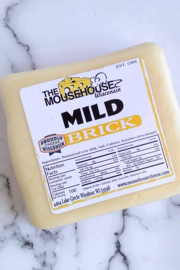 Mousehouse Mild Brick Cheese Block