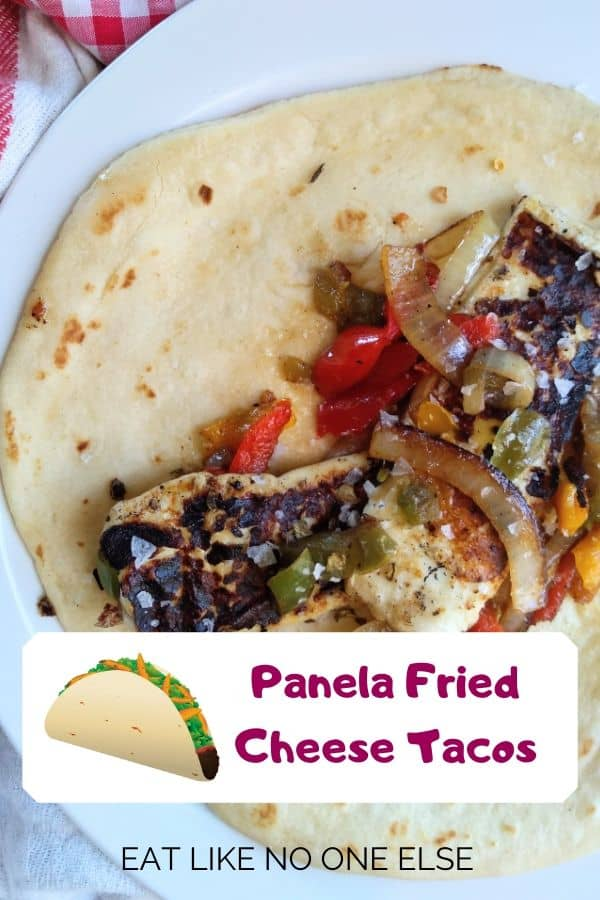 Panela Fried Cheese Tacos