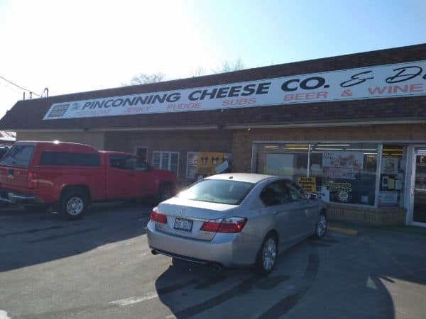 The store front of the Pinconning Cheese Company